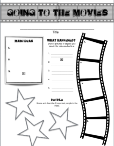 English language learner graphic organizer